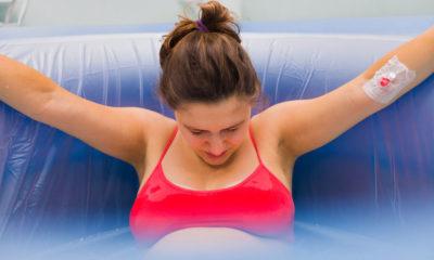 mengurangi rasa sakit saat melahirkan