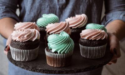 cupcakes, dessert untuk baby shower