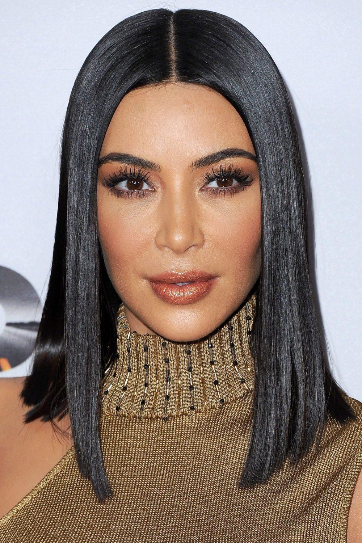 Blunt Cut Lob, potongan rambut yang praktis untuk ibu hamil.
