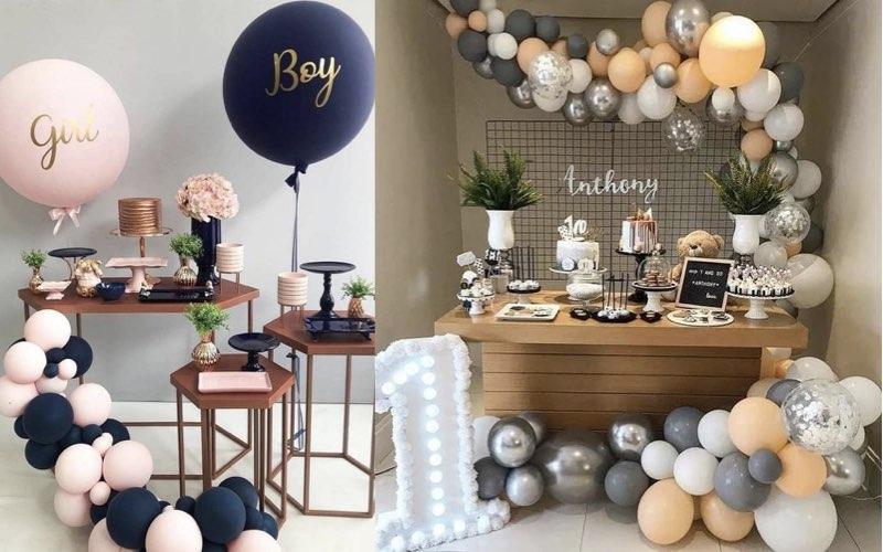 balon untuk dekorasi baby shower